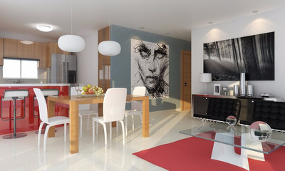 Venta Apartamentos Residencial Rosalia, Santiago.